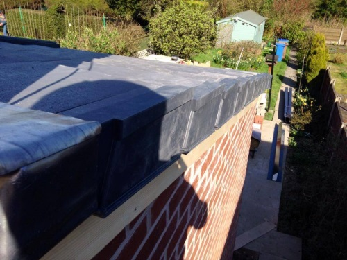 Dry Verge installed by Bamford Roofing Rochdale