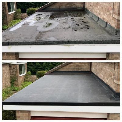 Firestone Rubber Roof by Bamford Roofing Rochdale