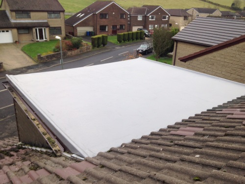 GRP Roof by Bamford Roofing Rochdale