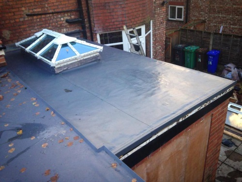 TPO Membtane (Rubber) Roof by Bamford Roofing Rochdale